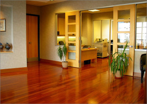 advantage of using hard wood floors
