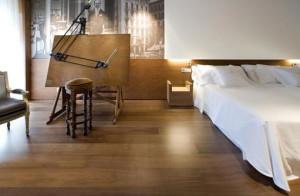 installation of floating wood floor