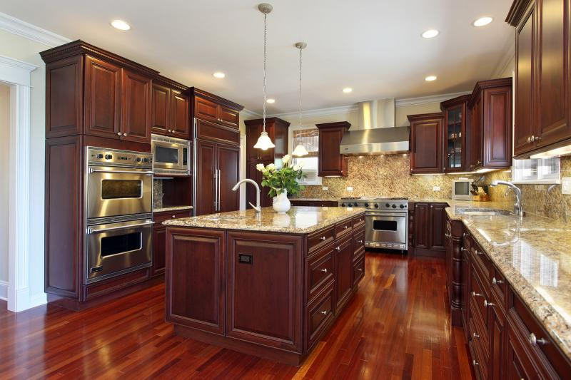 kitchen wood floors | wb designs