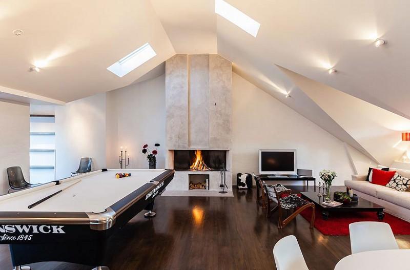 apartment style wood floors plus