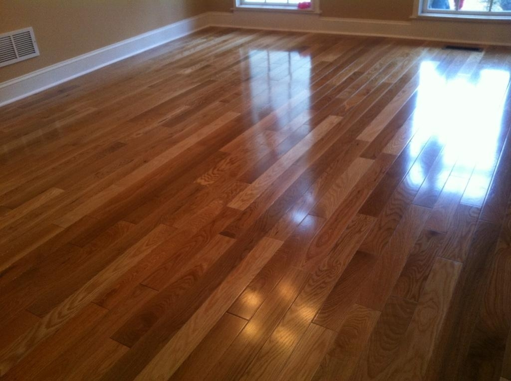 Engineered hardwood installation