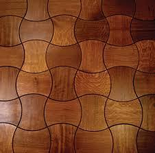 designed interlocking wood floor tiles