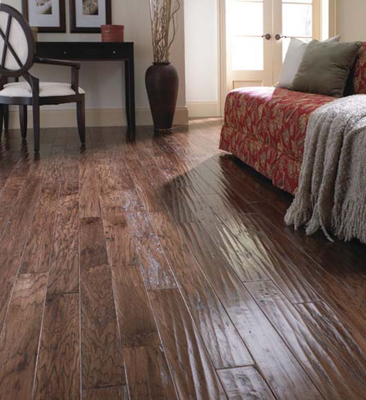 Great Hand Scraped Hardwood Flooring Wholesale
