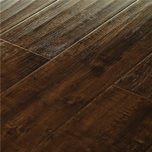 Distressed Laminate Wood Flooring Image